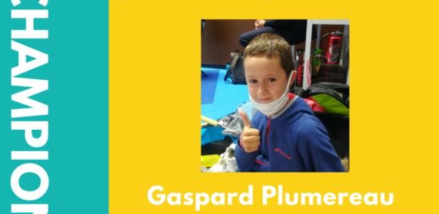 Gaspard Plumeau – Champion